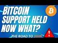 BOUNCED OF KEY SUPPORT! - BTC PRICE PREDICTION - SHOULD I BUY BTC - BITCOIN FORECAST 200K BTC