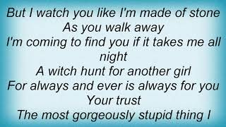 Smashing Pumpkins - A Night Like This Lyrics