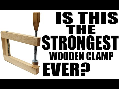 How To Make A Long Reach Wooden Clamp