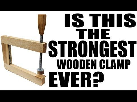 Make A Long Reach Wooden Clamp