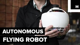 This Cute, Flying Robot Could Be Your New Bestie