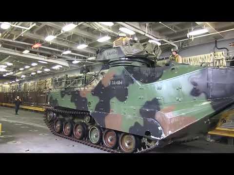 USS Pearl Harbor Amphibious Assault Vehicle Ops (HD)