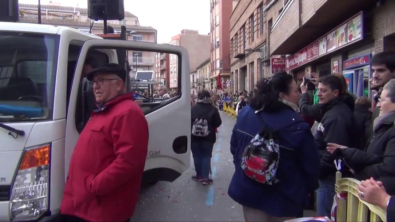 Cabalgata Sagunto Fallas 2017