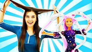 Игры в парикмахерскую: Как покрасить куклу? Ох уж эти куклы!