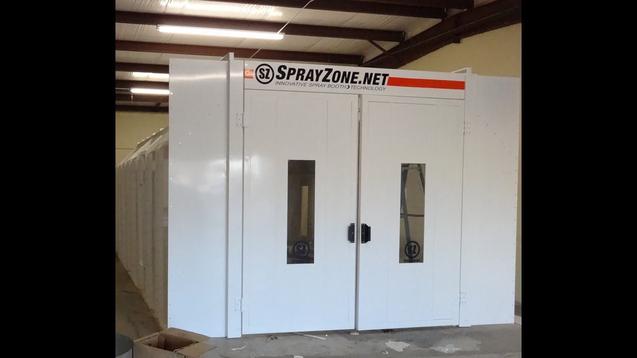 paint booth installation complete spray zone 27 paint booth installation  complete spray zone  wiring diagram
