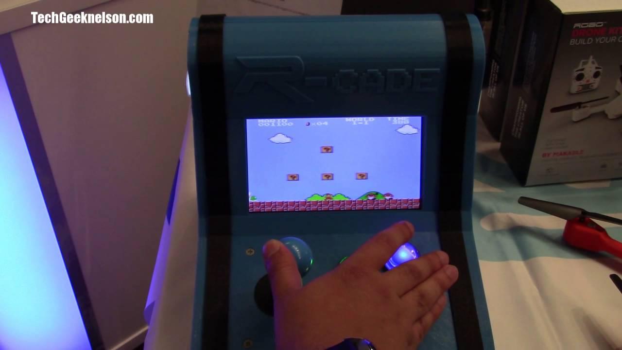Super Mario Bros on a 3D printed Arcade! - YouTube