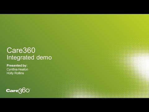 Care360 Integrated Demo