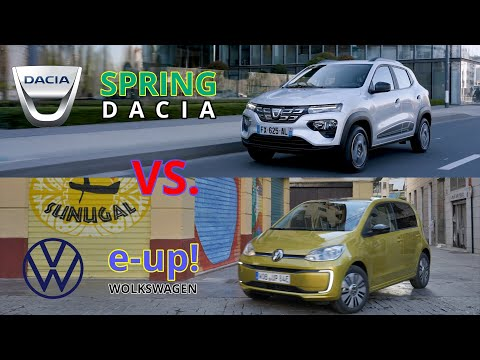 DACIA SPRING vs VW e-up!  - best electric cars of 2021