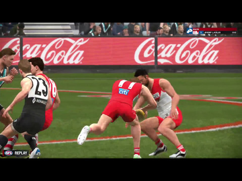 AFL Evolution - Career - Round 4 Sydney Swans vs Port Adelaide Power LIVE