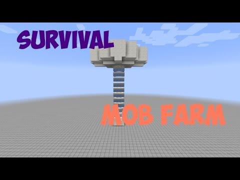 Minecraft 1.10 - Resource Friendly Mob Farm (Super Easy Tutorial)