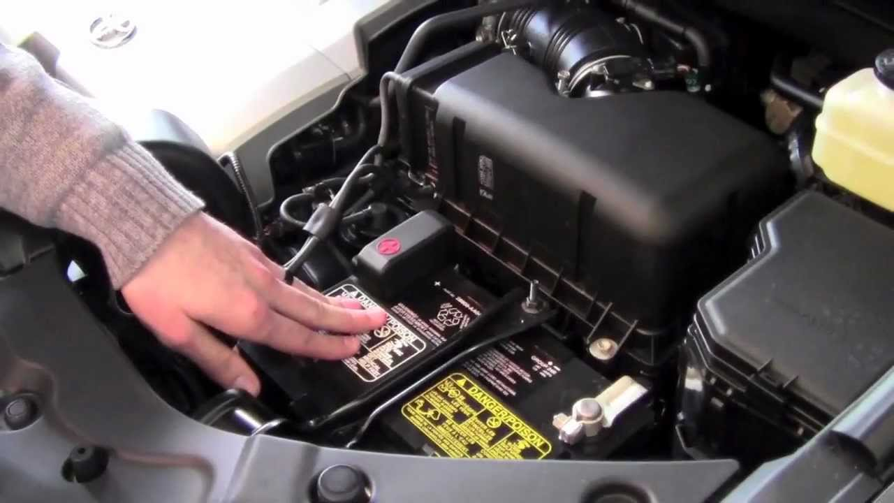2012 Toyota Highlander Engine Compartment Overview