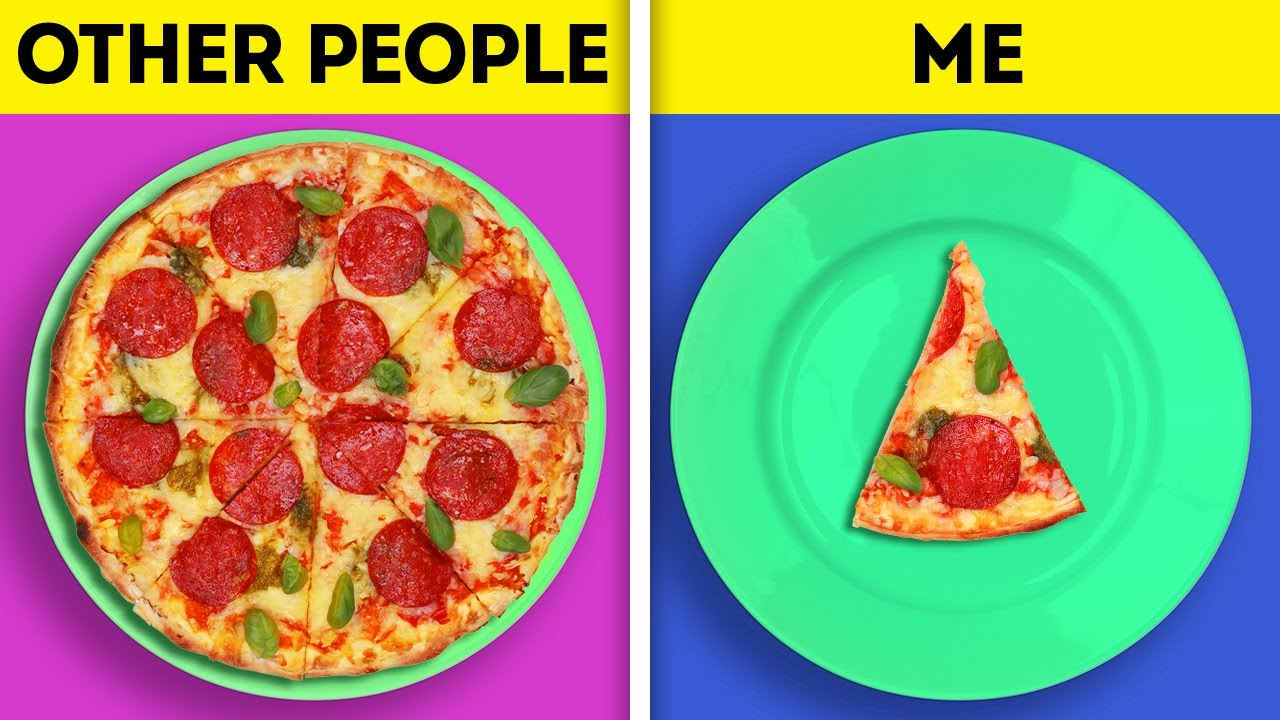 OTHER PEOPLE VS ME || 20 RELATABLE SITUATIONS WE ALL FACE