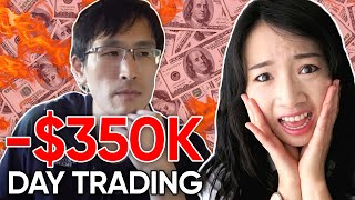Day Trader Reacts: How I Lost $350K Day Trading Stocks by TechLead
