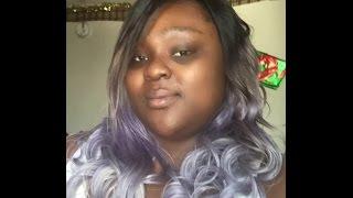 Desert Storm (Silver/White/Purple) Hair