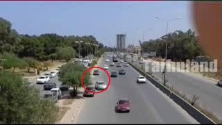 جنزور ليبيا جهل في القيادة كادت تسبب في حادث