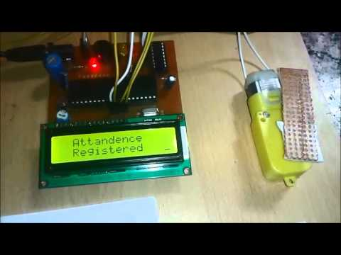 RFID Based Attendance System using 8051 Microcontroller