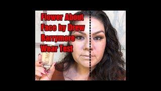 Flower About Face Foundation w/ Primer by Drew Barrymore Wear Wear Test!