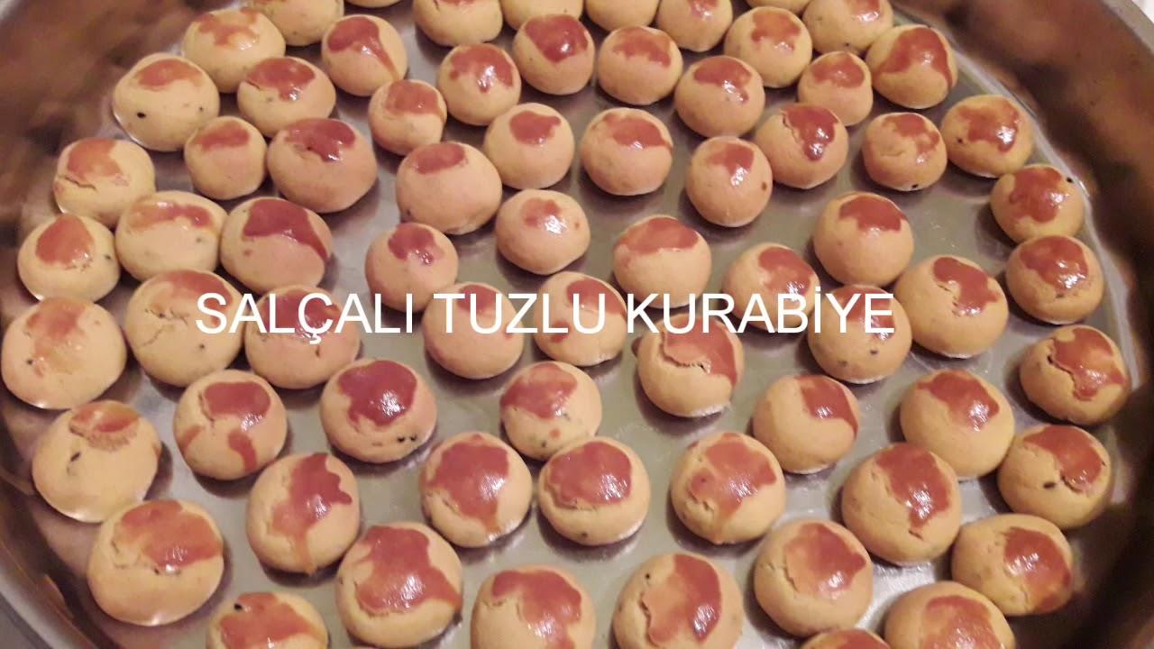 SALÇALI TUZLU KURABİYE / ÇOK KOLAY TARİFLER