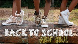 BACK TO SCHOOL SHOE HAUL | SHOE HAUL FOR SCHOOL KIDS | KJTAKEOVER