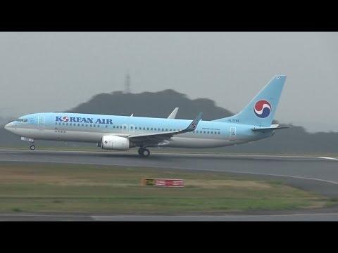 Korean Air Boeing 737-800 - Okayama Airport【OKJ/RJOB】 -