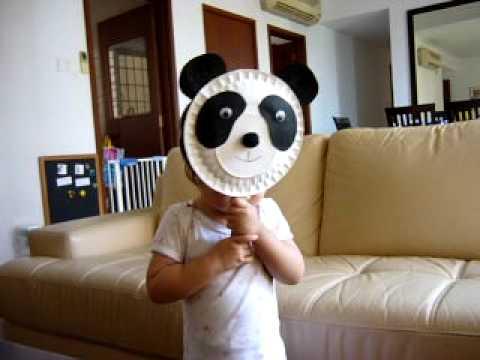 Paper Plate Panda & Paper Plate Panda - YouTube