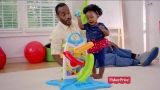 Toy Commercial - Fisher Price Roller Blocks Play Wall - Slide, Spin, Stack - Best Possible Start