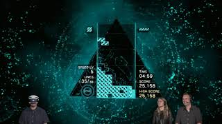 PS4 Games Tetris Effect   PS VR Gameplay