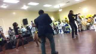 Flavour Baby oku  dance @ a 50th years  birthday!