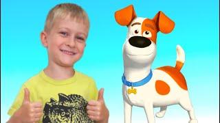 Tawaki kids pretend play with Bingo DOG