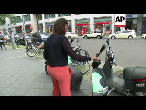 Electric scooter sharing the latest trend in Berlin