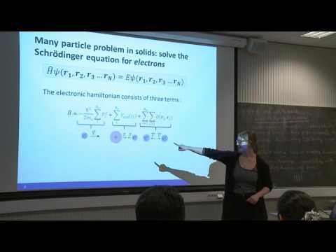Fundamentals and applications of density functional theory