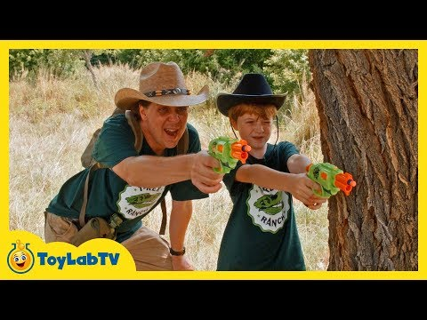 Dinosaurs Showdown! Giant T-Rex, Gold Hunting Treasure Adventure & Jurassic World Surprise Toys