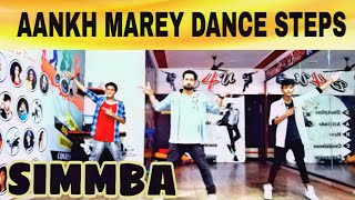 Aankh Marey | Ranveer Singh | Simmba | Dance Choreography By Gouarv Sharma | Sara Ali khan
