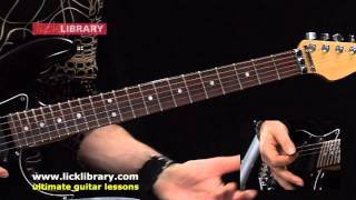 Crazy Crazy Nights - KISS - Guitar Lesson with Michael Casswell Licklibrary