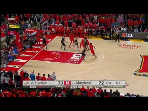 Purdue at Maryland - Men's Basketball Highlights