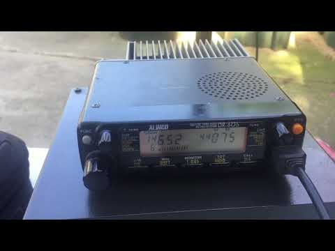 KA6PDY Testing a Homebrew J-Pole Amateur Radio Antenna 5.10.2018