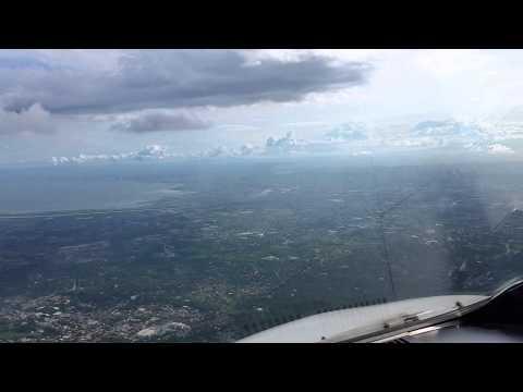 Manila landing pilots view rpll runway 24