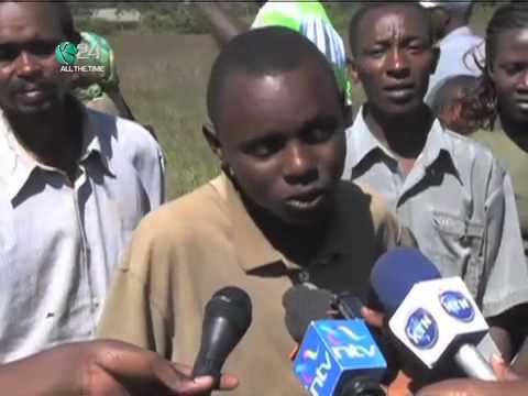 Rifle Found Abandoned At Mweiga, Nyeri