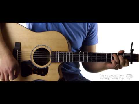 Come Over Kenny Chesney Guitar Lesson and Tutorial