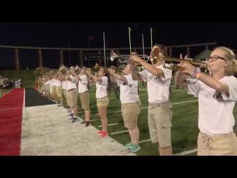 Marching Band Performance with Carolina Crown at the 2016 DCI Central Indiana Show