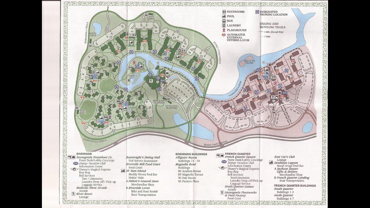 LET\'S COMPARE Disney World\'s PORT ORLEANS Riverside & French Quarter ...