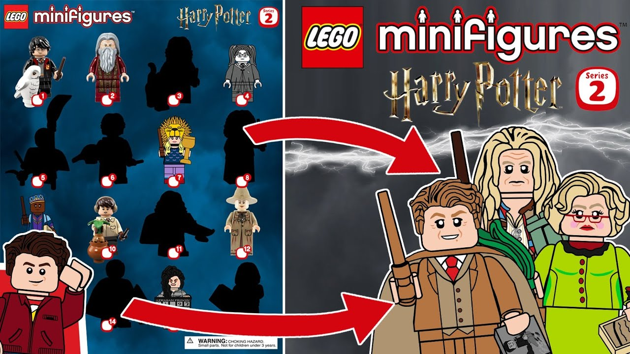 My Predictions For The Lego Harry Potter Minifigures Series 2 Who The Last 7 Spots Are Youtube