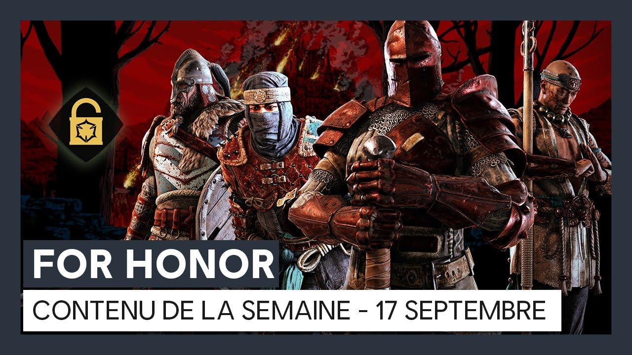 For Honor – Nouveau contenu de la semaine (17 septembre) [OFFICIEL] VOSTFR HD
