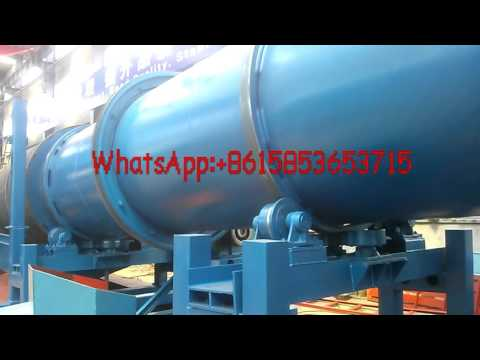 Gear Driven Gold Trommel Scrubber for alluvial high sticky clay gold mining