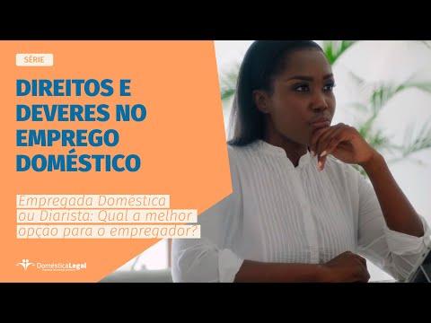 Empregada Doméstica ou Diarista: Qual a melhor opção?  WEB-SÉRIE  Direitos e Deveres