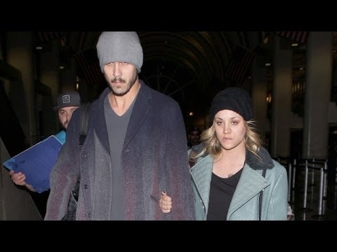 Newlyweds Kaley Cuoco And Ryan Sweeting Look Miserable At LAX