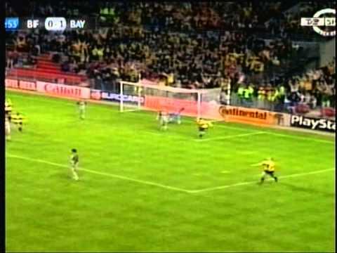 1998 September 16 Brondby Denamrk 2 Bayern Munich Germany 1 Champions League
