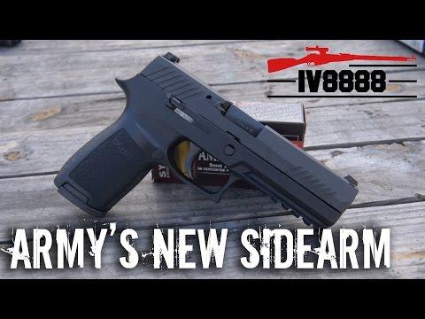 The Army's New Sidearm: Sig P320
