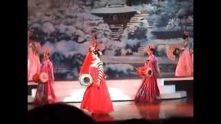 Alcazar Pattaya 2009 # เกาหลี อารีดัง รำพัด+ตีกลอง (จีจี้ & เจ๊เก๋)