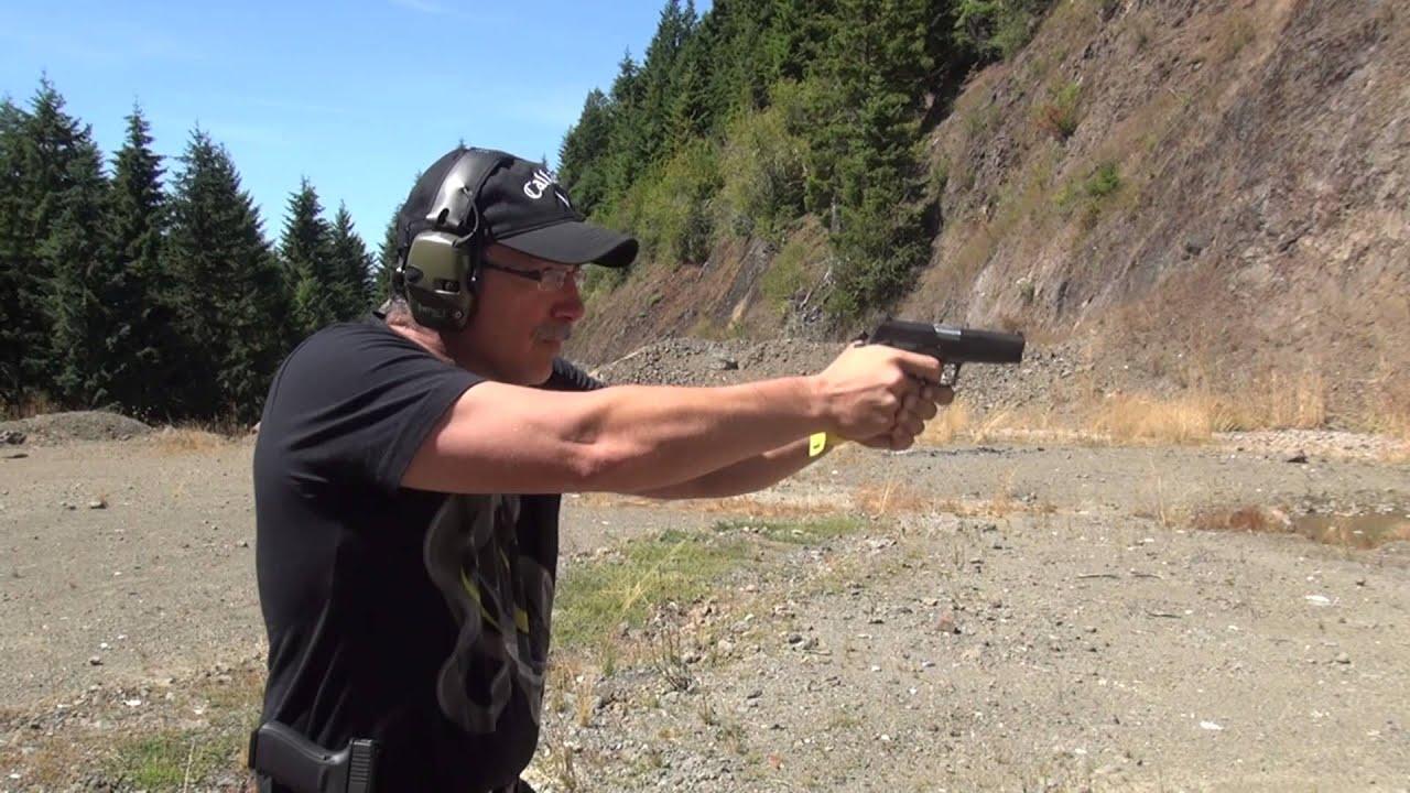 DAEWOO DP51 Triple Action Handgun.